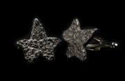 stone leaf cufflinks